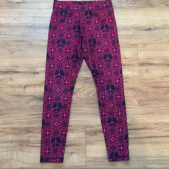 33cafeb8be978 Justice Bottoms | Leggings Girls Size 10 Pink And Black | Poshmark